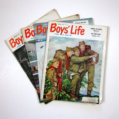 Boy's Life Covers