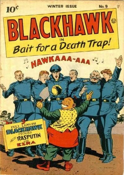 First Quality Comics Blackhawk