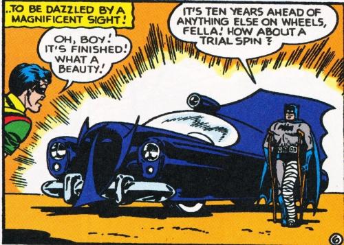 1950 Batmobile a