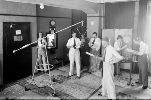 Radio Studio 1930s