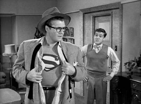 Clark, be careful; Jimmy's right behind you!