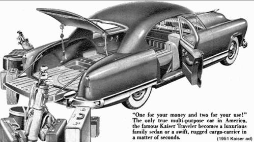 1951 Kaiser Ad