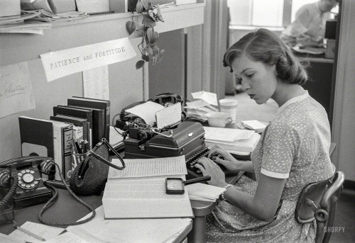 NYC Career Girl, 1956
