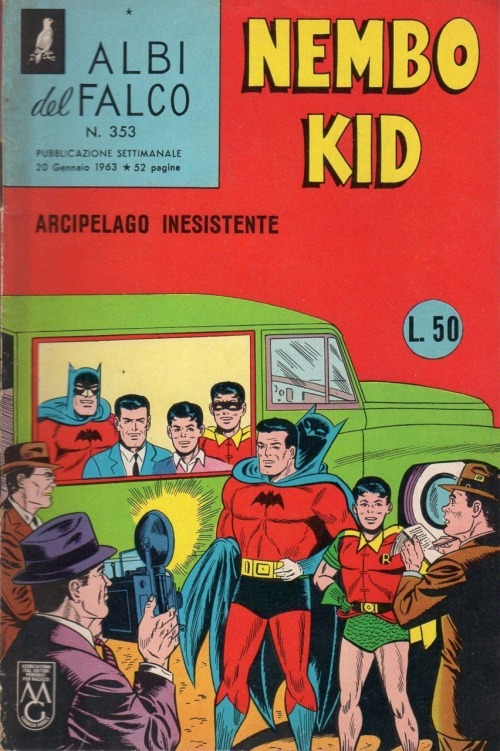 Batman Nembo Kid