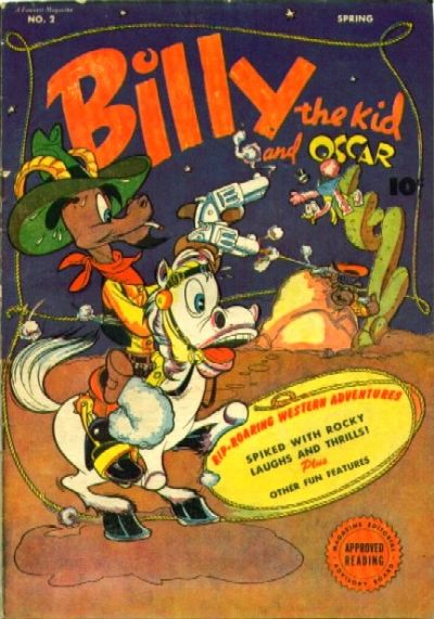 Fawcett Billy the Kid