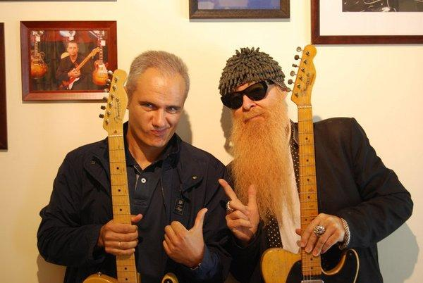Nacho and Billy Gibbons