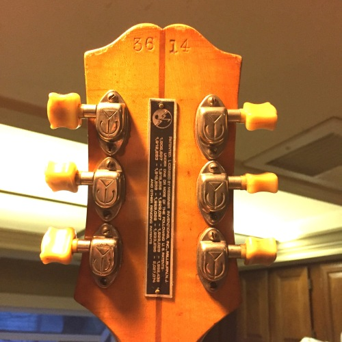 JBP '40 Epi Back Headstock copy